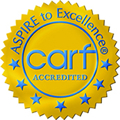 CARF Golden Seal accreditation logo